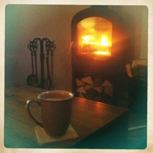 Cuppa and fire
