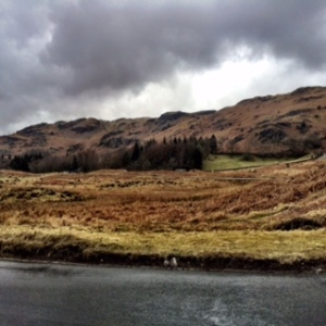 Five mile walk at Elterwater certainly blew away a few cobwebs